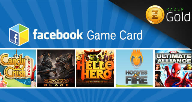 Facebook Game Cards