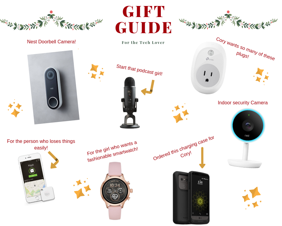 Tech Christmas gift for Girls
