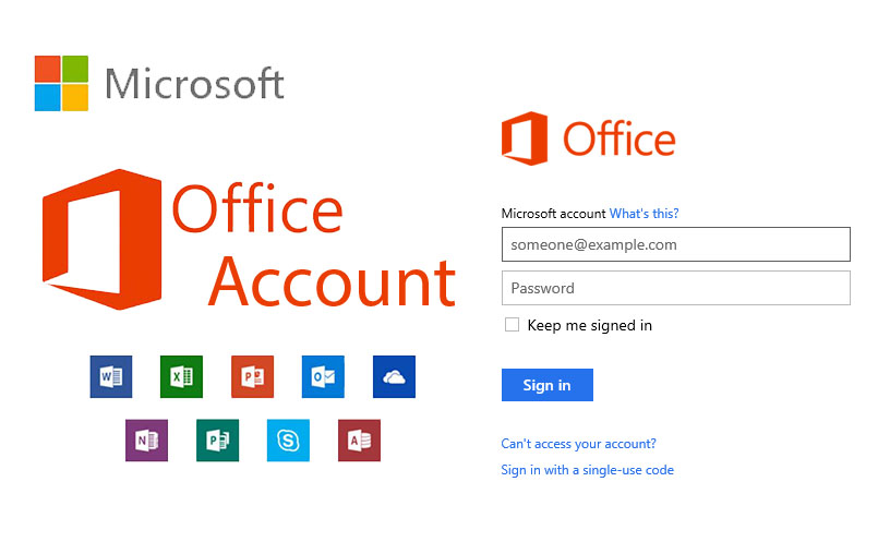 Microsoft Office Account