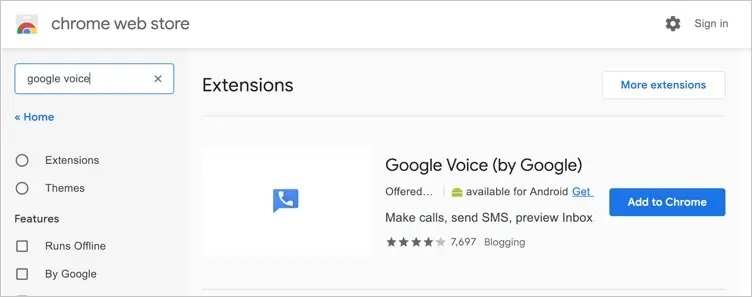 How to Get Google Voice Chrome Extension