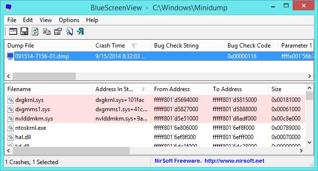 Win Dump Files Windows 10